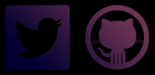 Twitter bootstrap logo vector